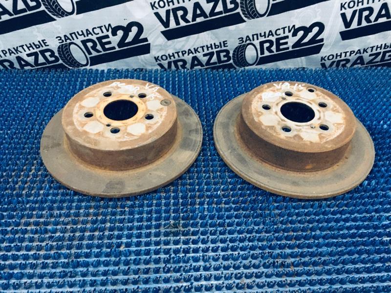 Диск тормозной Toyota Vista Ardeo AZV50-0003574 1AZ-FSE 2002 задний