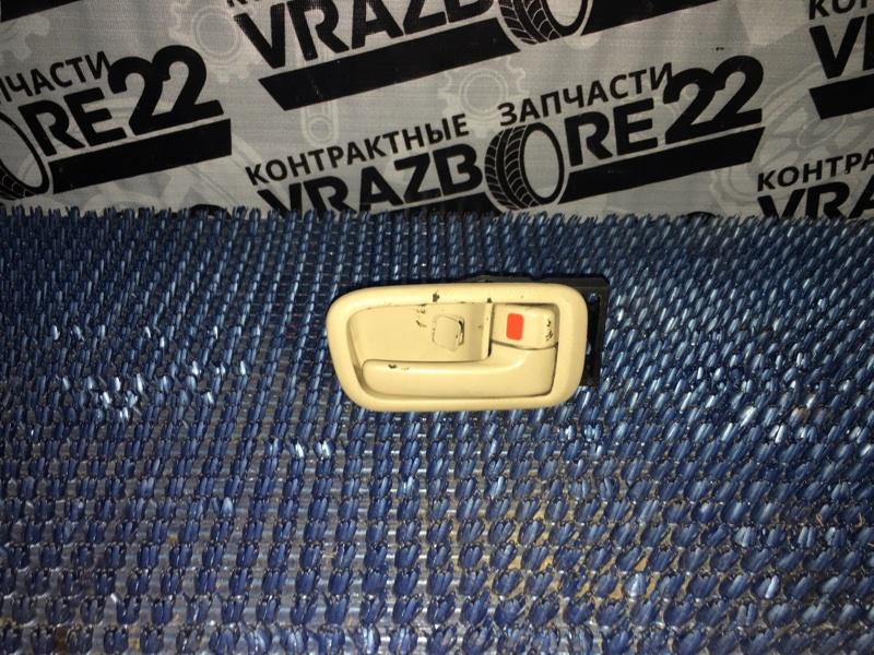 Ручка двери внутренняя Toyota Vista Ardeo ZZV50-0019074 1ZZ-FE 1999 задняя правая