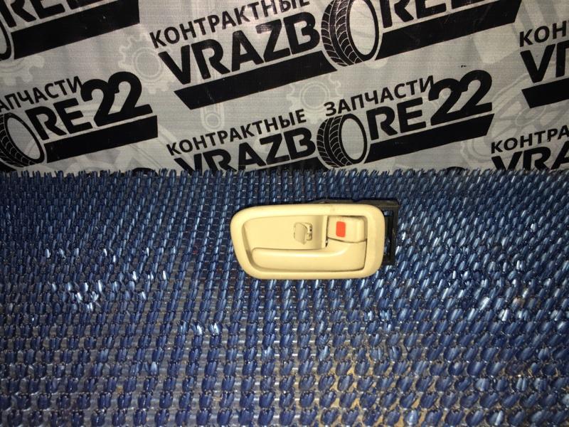 Ручка двери внутренняя Toyota Vista Ardeo ZZV50-0019074 1ZZ-FE 1999 передняя правая