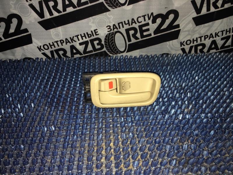 Ручка двери внутренняя Toyota Vista Ardeo ZZV50-0019074 1ZZ-FE 1999 передняя левая
