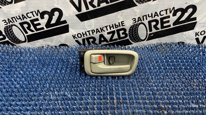 Ручка двери внутренняя Toyota Vista Ardeo SV50-0001309 3S-FSE 1998 задняя левая