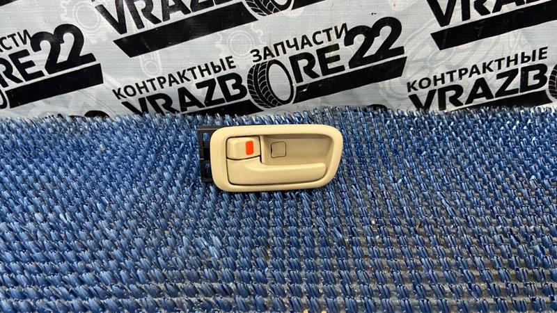 Ручка двери внутренняя Toyota Vista SV50-0019807 3S-FSE 1999 задняя левая