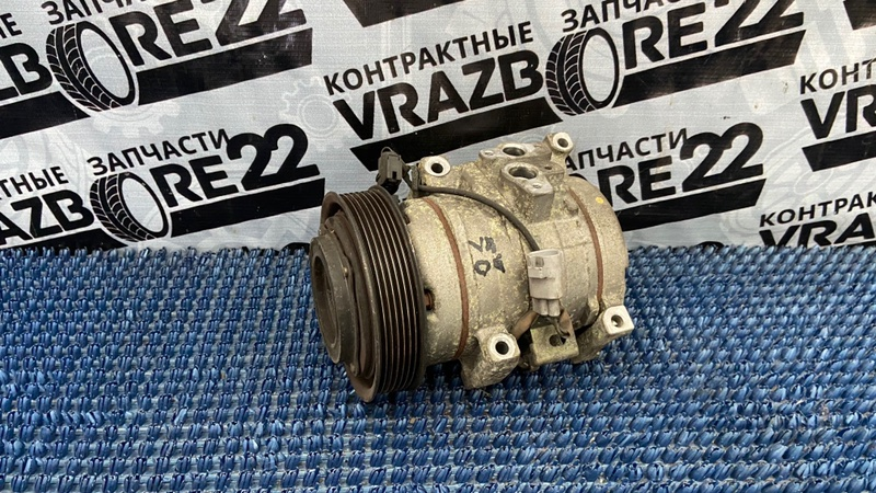 Компрессор кондиционера Toyota Vista Ardeo AZV50-0003574 1AZ-FSE 2002
