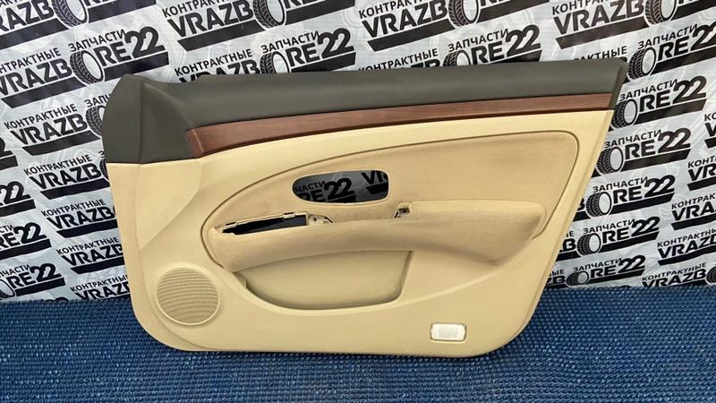 Обшивка двери Nissan Bluebird Sylphy KG11-022291 MR20DE 2006 передняя правая
