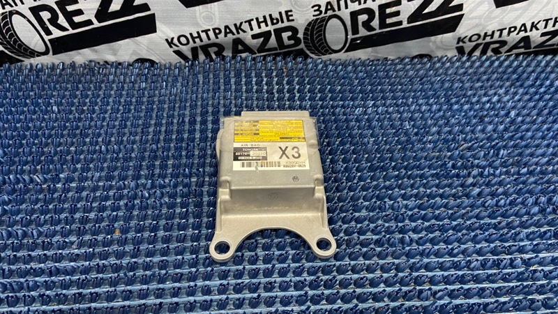 Блок управления airbag Toyota Allion ZZT245-0037357 1ZZ-FE 2007
