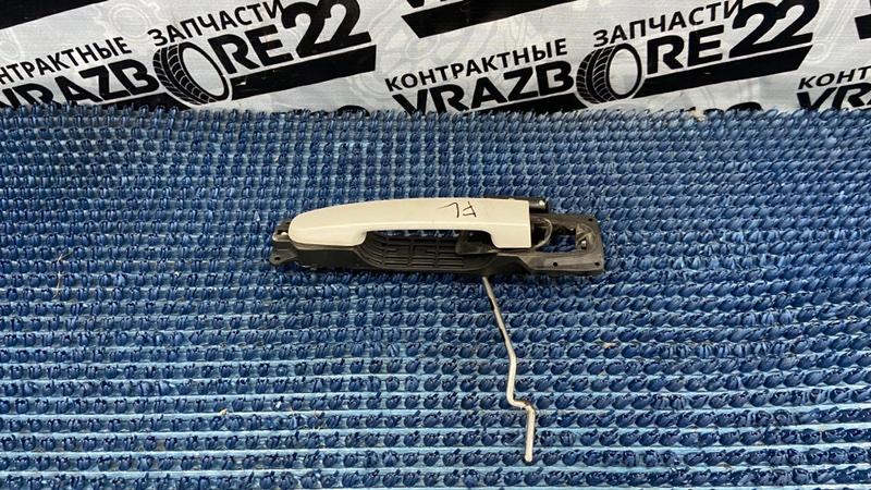 Ручка двери внешняя Toyota Allion ZZT240-0111879 1ZZ-FE 2006 передняя левая