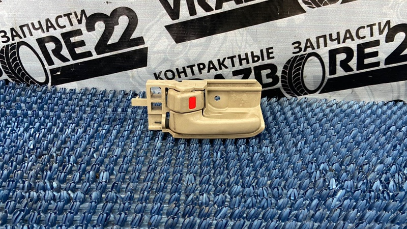 Ручка двери внутренняя Toyota Corolla NZE121-3009477 1NZ-FE 2000 передняя левая