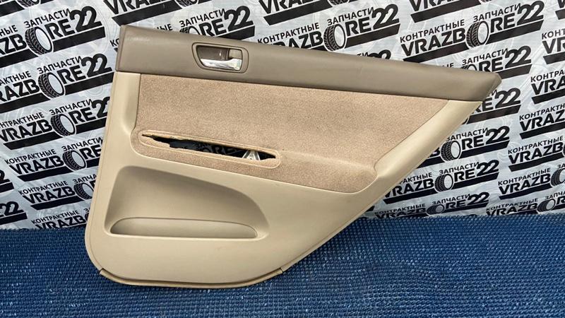 Обшивка двери Toyota Camry ACV30-0076448 2AZ-FE 2002 задняя правая