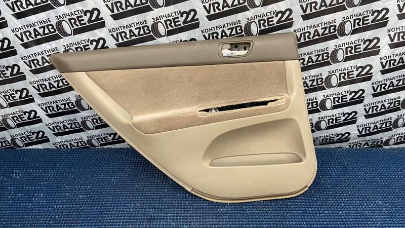 Обшивка двери Toyota Camry ACV30-0076448 2AZ-FE 2002 задняя левая