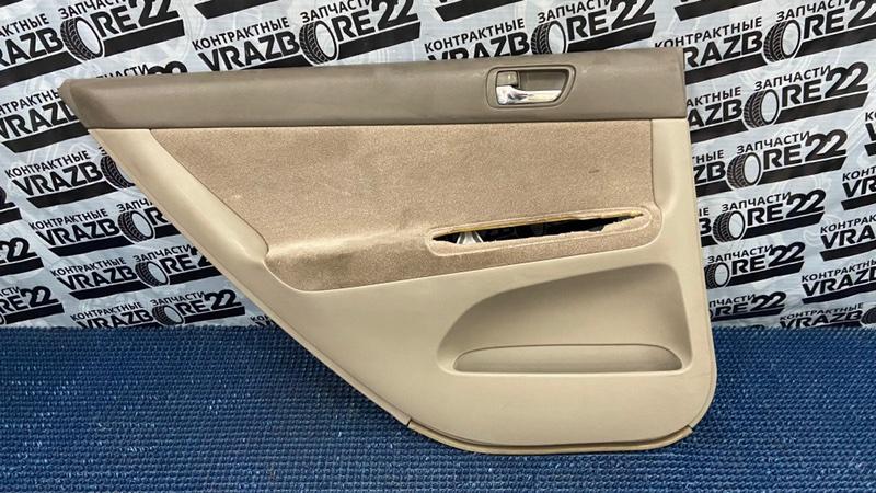 Обшивка двери Toyota Camry ACV30-3026477 2AZ-FE 2005 задняя левая
