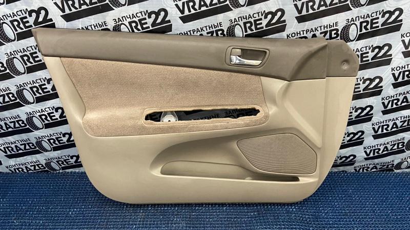Обшивка двери Toyota Camry ACV30-3026477 2AZ-FE 2005 передняя левая