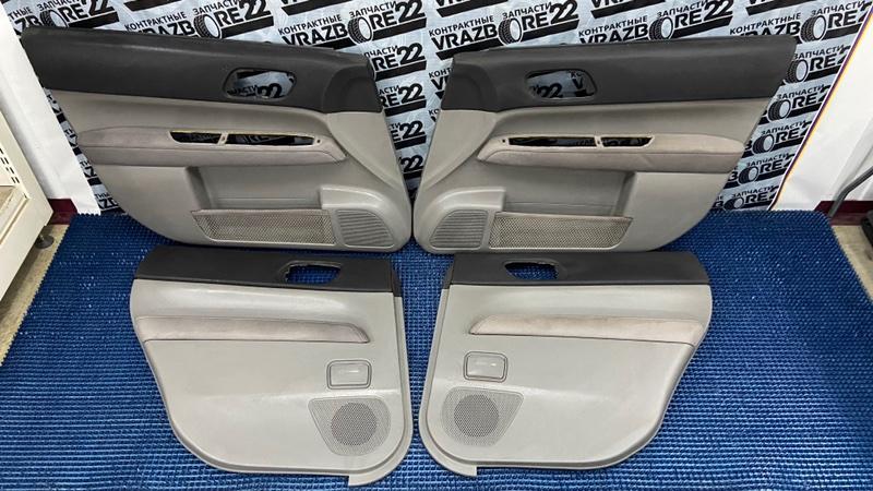Обшивки дверей Subaru Forester SG5-068391 EJ205 2004