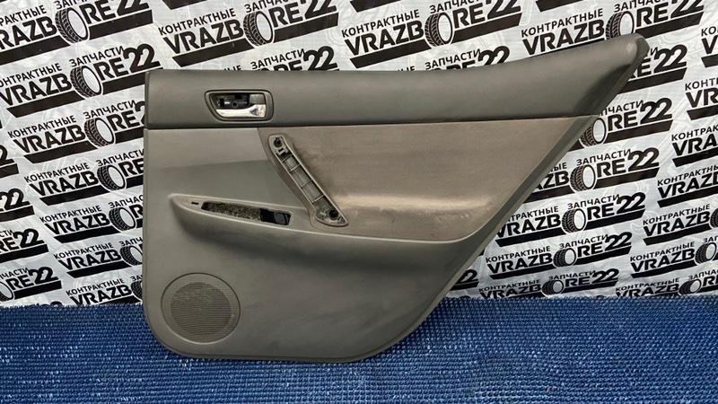 Обшивка двери Toyota Allion ZZT245-0024098 1ZZ-FE 2004 задняя правая