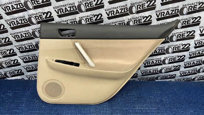 Обшивка двери Toyota Premio AZT240-0009263 1AZ-FSE задняя правая