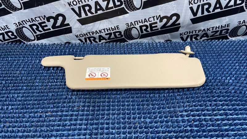 Козырек солнцезащитый Toyota Vista Ardeo ZZV50-0019074 1ZZ-FE 1999 левый
