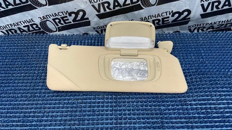 Козырек солнцезащитый Toyota Camry ACV30-0285388 2AZ-FE 2004 правый