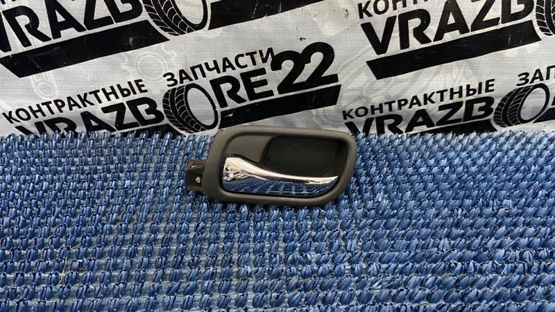 Ручка двери внутренняя Honda Accord CL9-1001125 K24A 2003 задняя левая