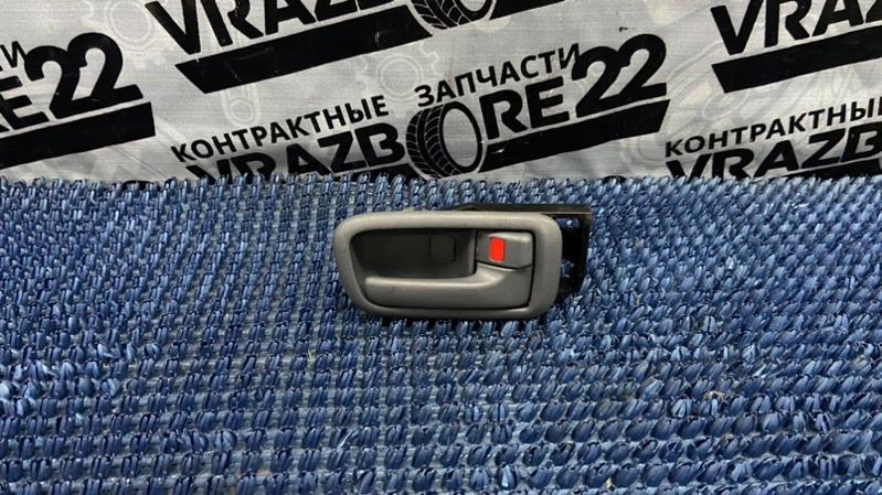 Ручка двери внутренняя Toyota Rav4 ACA21-0159861 1AZ-FSE 2002 передняя правая