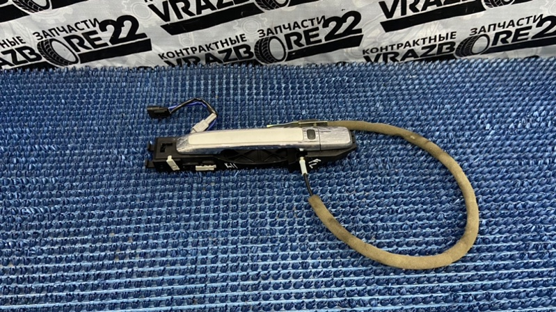 Ручка двери внешняя Nissan Bluebird Sylphy KG11-022291 MR20DE 2006 передняя левая