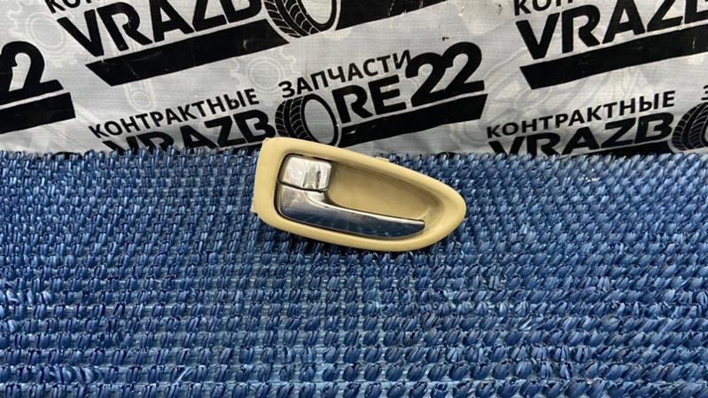 Ручка двери внутренняя Nissan Bluebird Sylphy KG11-022291 MR20DE 2006 задняя левая