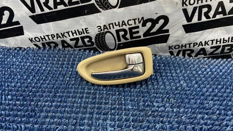 Ручка двери внутренняя Nissan Bluebird Sylphy KG11-022291 MR20DE 2006 задняя правая