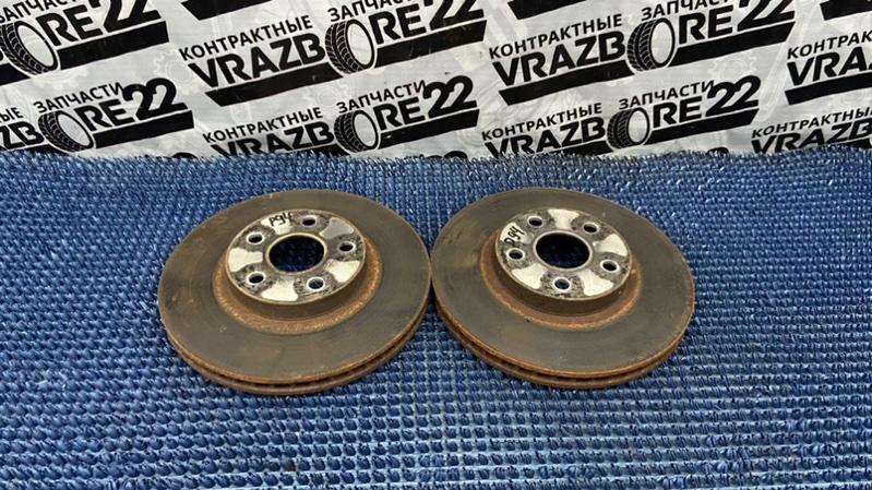 Диски тормозные Toyota Premio AZT240-0016443 1AZ-FSE 2003 передние