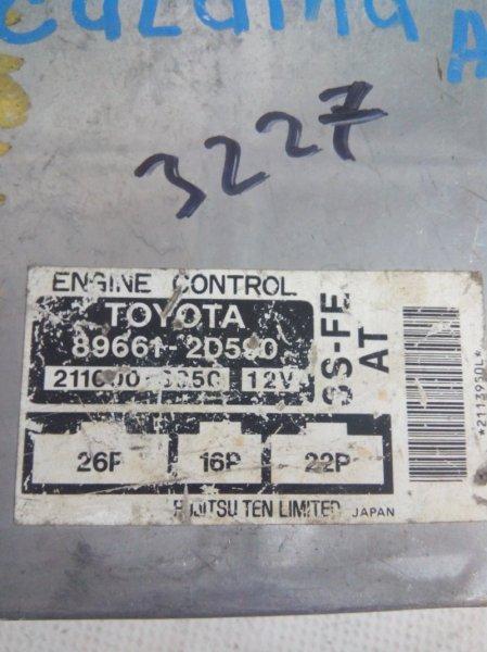 Блок управления двс Toyota Corona Premio ST210 3SFE