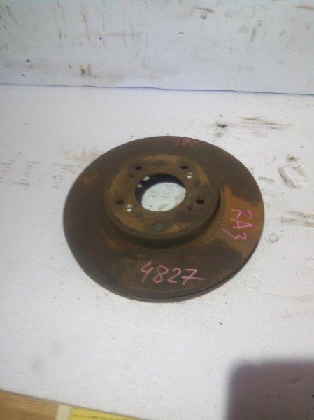 Тормозной диск Honda Odyssey RA1 F22B передний