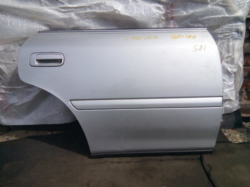 Дверь боковая Toyota Chaser GX100 1GFE задняя правая