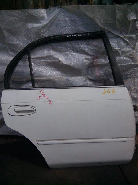Дверь боковая Toyota Corolla AE100 4AFE задняя правая