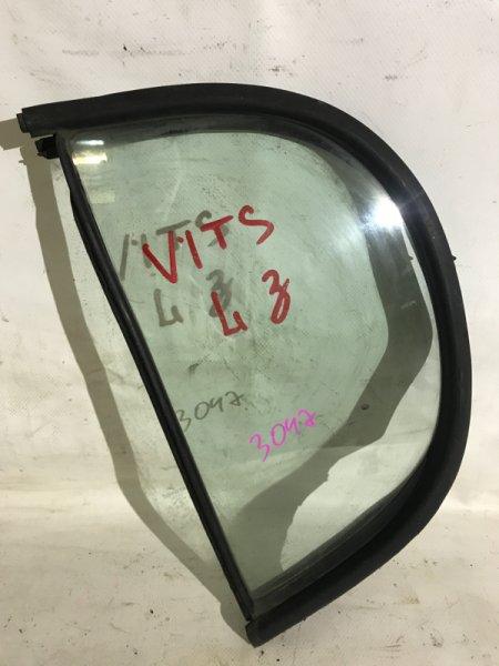 Форточка двери Toyota Vitz SCP10 1SZFE задняя левая