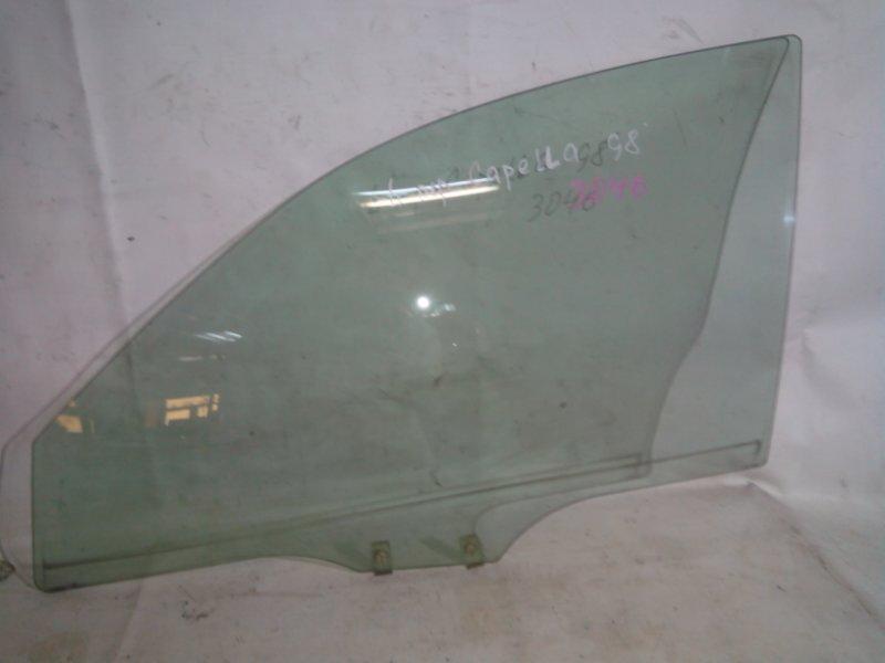 Стекло боковое Mazda Capella GFEP 1998 переднее левое