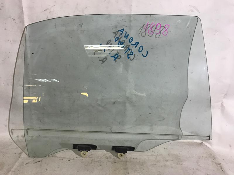 Стекло боковое Toyota Corona AT190 заднее правое