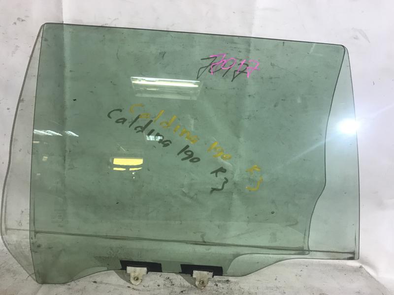 Стекло боковое Toyota Caldina ST191G заднее правое