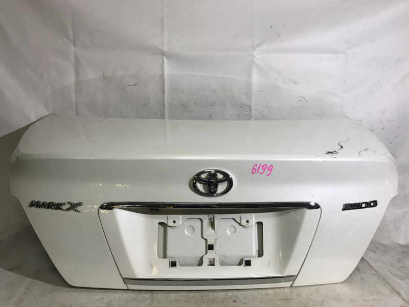 Крышка багажника Toyota Mark X GRX121 3GRFSE задняя