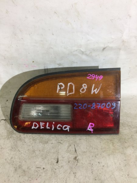 Стоп-вставка Mitsubishi Delica PD8W 4D56 задняя правая