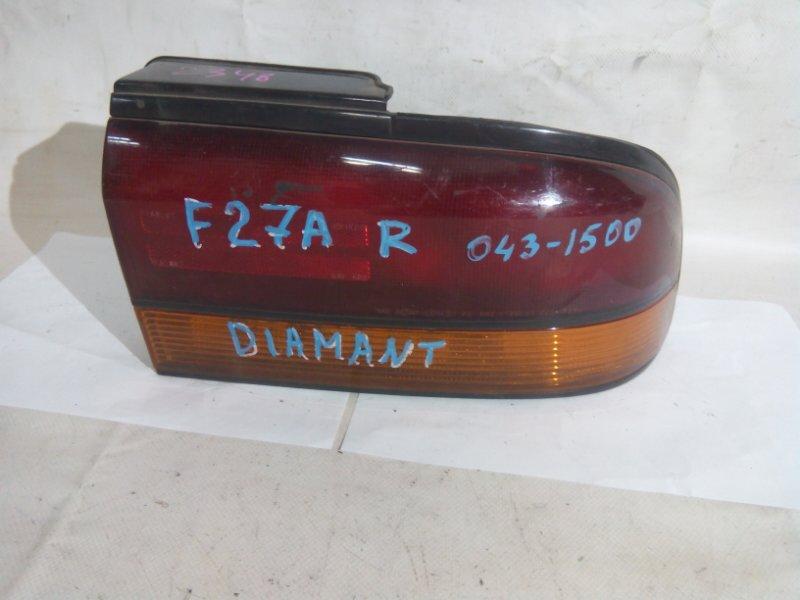 Стоп-сигнал Mitsubishi Diamante F27A 6G73 задний правый