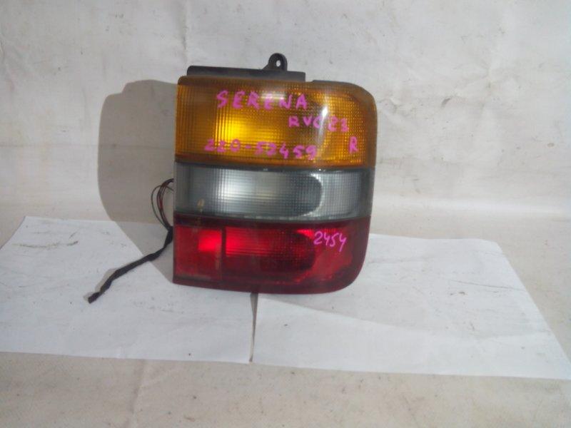Стоп-сигнал Nissan Serena KBNC23 SR20DE задний правый