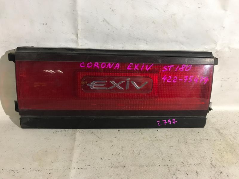 Накладка багажника Toyota Corona Exiv ST180 задняя
