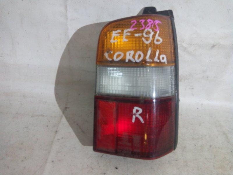 Стоп-сигнал Toyota Corolla AE96 задний правый