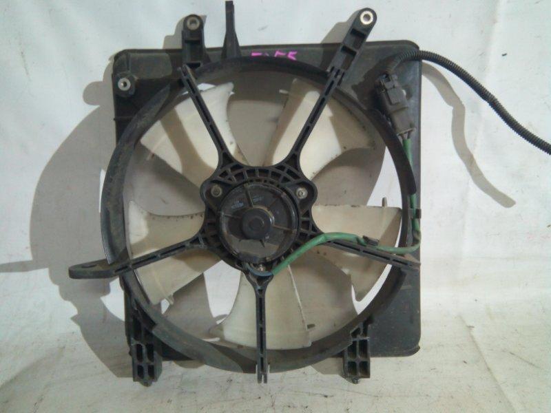 Вентилятор охлаждения радиатора Honda Airwave GJ1 L15A левый