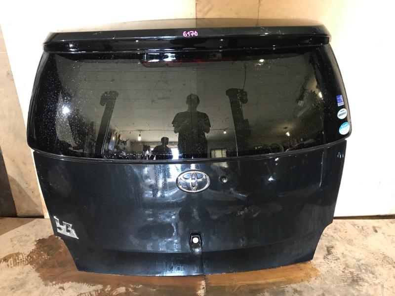 Дверь багажника Toyota Bb QNC20 3SZVE задняя