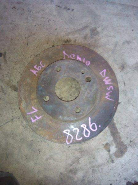 Тормозной диск Mazda Demio DW3W B3E передний