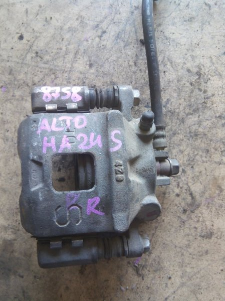Суппорт тормозной Suzuki Alto HA24S K6A передний правый