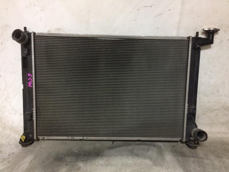 Радиатор охлаждения двигателя Toyota Wish ANE10G 1ZZFE