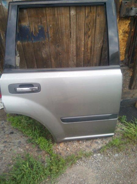 Дверь боковая Nissan X-Trail T30 QR20DE задняя правая