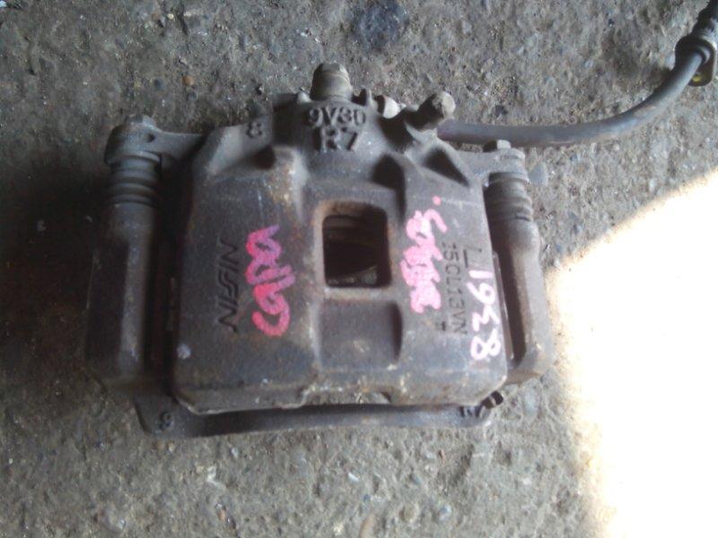 Суппорт тормозной Honda Capa GA4 D15B передний левый