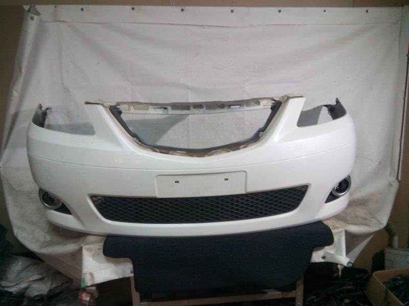 Бампер Mazda Mpv LW3W L3VE 2004 передний