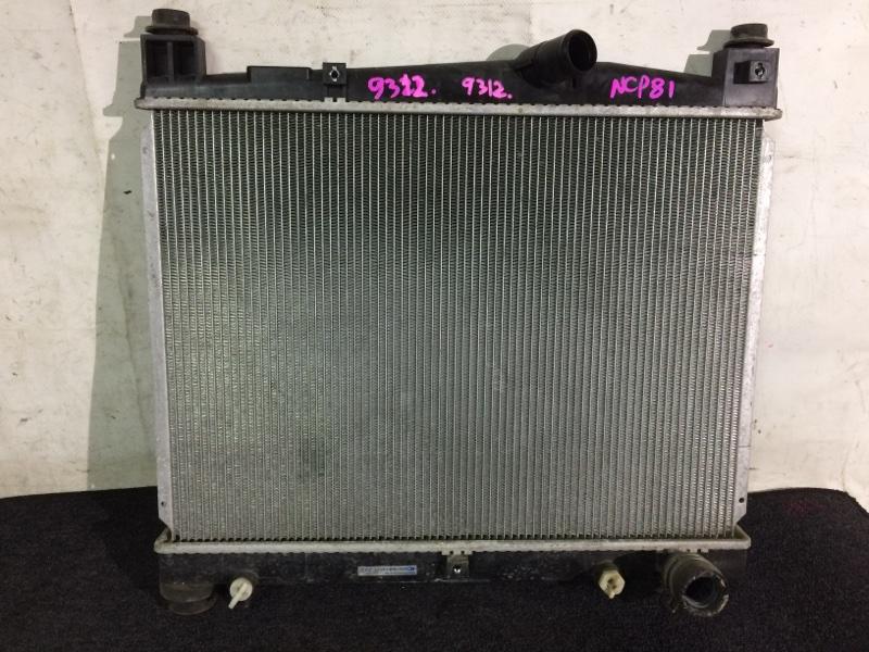 Радиатор охлаждения двигателя Toyota Sienta NCP81G 1NZFE