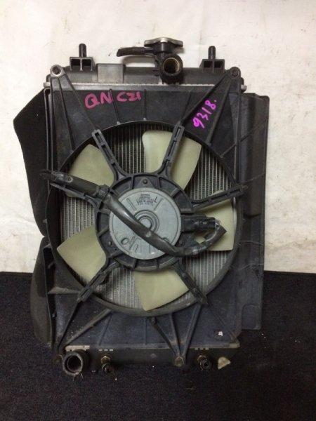 Радиатор охлаждения двигателя Toyota Bb QNC20 3SZVE
